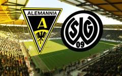 Auf dem Tivoli duellieren sich Alemannia Aachen und die SG Wattenscheid 09