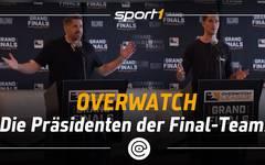 Overwatch: Pressekonferenz von London Spitfire & Philadelphia Fusion