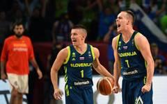 Gegen Titelverteidiger Spanien gelang dem Team aus Slowenien eine Top-Performance