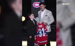 NHL: Montreal-Star Carey Price trägt Slip als Einstecktuch
