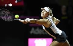 Angelique Kerber unterlag in ihrem ersten Einzel Karina Pliskova