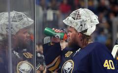 NHL: Torhüter Robin Lehner berichtet über Depressionen, Robin Lehner spielte in der verganenen Saison für die Buffalo Sabres