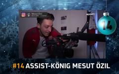 SPORT1-Adventskalender - Türchen 14: Assist-König Mesut Özil