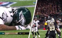 New Orleans Saints - Philadelphia Eagles (20:14) - Divisional Playoffs   NFL