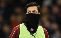 Mesut Özil kam 2019 in der Premier League noch nicht zum Einsatz