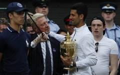 Boris Becker, Novak Djokovic