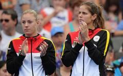 Angelique Kerber and Julia Görges werden im Halbfinale für Deutschland antreten