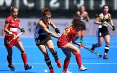 In der Vorrunde gewannen die DHB-Frauen mit 3:1 gegen Spanien