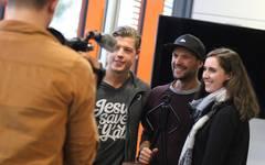 Ironman-König Patrick Lange zu Besuch bei SPORT1