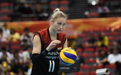 Volleyball-WM in Japan: Deutschland besiegt Puerto Rico, Louisa Lippmann gewann mit Deutschland die WM-Partie gegen Puerto Rico