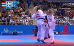 Jana Bitsch bei den European Games 2019