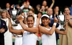 Barbora Strycova und Su-Wei Hsieh gewinnen den Doppel-Titel der Damen in Wimbledon