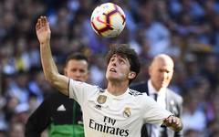 FBL-ESP-LIGA-REAL MADRID-CELTA Alvaro Odriozola bestritt bisher vier Länderspiele für Spanien