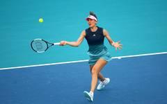 Andrea Petkovic unterlag in Miami dem US-amerikanischen Tennis-Talent Amanda Anisimova