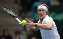 Alexander Zverev bringt Deutschland im Davis Cup gegen Ungarn mit 2:0 in Führung
