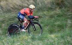 Domenico Pozzovivo wird bei einer Trainingsfahrt verletzt