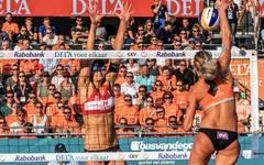 Sanne Keizer (r.) siegte mit ihrer Partnerin Madelein Meppelink