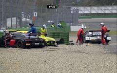 ADAC GT Masters/Hockenheimring: Maximilian Götz/Markus Pommer werden abgeräumt