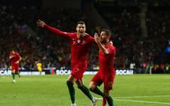 Portugal v Switzerland - UEFA Nations League Semi-Final Nach seiner Halbfinal-Gala will Ronaldo Portugal nun auch zum Titel schießen