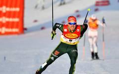 Fabian Rießle schloss auch in der Gesamtwertung die Saison als Dritter ab