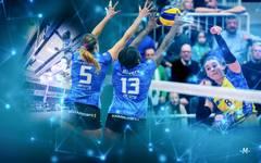 Beim DVV-Pokalfinale werden die Livedaten der Spielerinnen gemessen