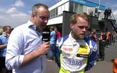 TCR Germany: Antti Buri im Interview nach seinem Sieg in Most