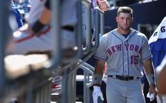 Tim Tebow, MLB-Outfielder der New York Mets, fällt für den Rest der Saison mit einem Handbruch aus