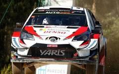 Ott Tänak hat als erster Fahrer 2019 drei WRC-Läufe gewonnen