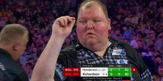 Darts Premier League: So performte Henderson bei der Darts-WM