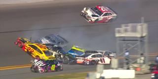 Reichlich Crash und Chaos: So spektakulär war der Busch Clash in Daytona