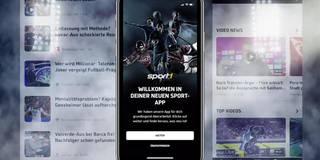 Einfacher, schneller, besser: So funktioniert die neue SPORT1-App