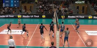 Volleyball spektakulär! Mega-Ballwechsel im Spitzenspiel