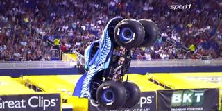 Motorsport-Action pur! Monster Jam aus Miami auf SPORT1