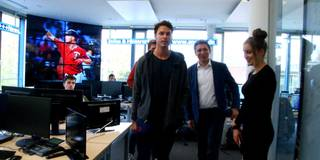 Baseball-Star made in Germany - Max Kepler besucht SPORT1