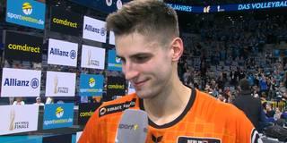 """Moritz Reichert über Pokalsieg: """"Fühlt sich super an!"""""""