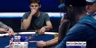 Trotz Straße auf dem River: Poker-Pro lässt sich aus der Hand bluffen