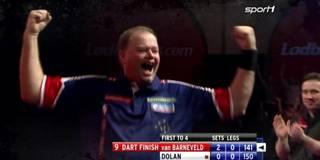 Die legendärsten 9-Darter der Darts-WM