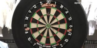 154er-Fimish! Abeltshauser verblüfft Darts-Weltmeister