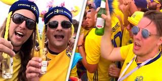 Alter Schwede! Tausende Fans feiern verrückte Strand-Party