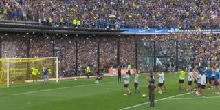 Boca-Fans drehen durch! 50.000 Zuschauer beim Training vor dem Superclasico