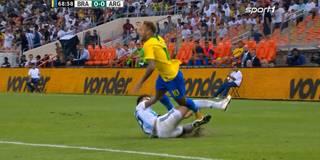 Brutale Attacke und späte Rache: Neymar-Show im Superclasico