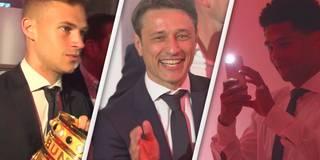 """Campeooones!"" Hier feiern die Bayern den Pokalsieg"