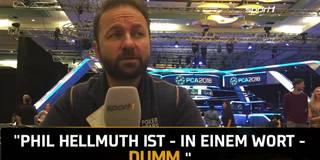 """""""Wahnhaft und eifersüchtig"""": Poker-Star Negreanu attackiert Rivalen Hellmuth"""