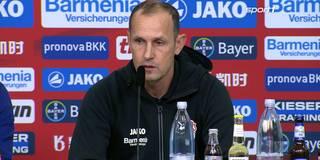 Herrlich-raus-Rufe: So reagiert Leverkusens Trainer