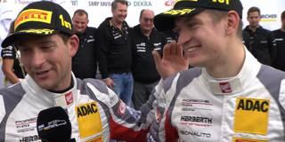 Strahlende Sieger: Renauer und Jaminet überglücklich über Meisterschaftsgewinn