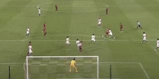 Magisches Tor! Podolski auf Iniesta und der zündet den Hammer