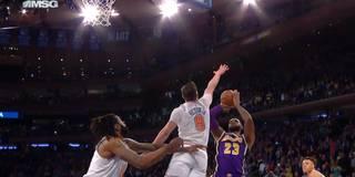 Dank Monster-Block gegen LeBron: Knicks krönen irre Aufholjagd