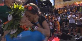 Deutscher Ironman-Champion macht Heiratsantrag im Ziel