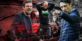 Trainer auf 180: Die Saison der Brandreden