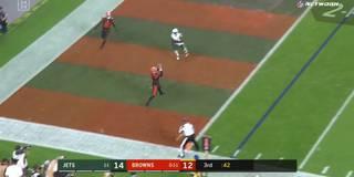 Mayfield-Show! Trick-Play krönt Ende der Browns-Pleitenserie
